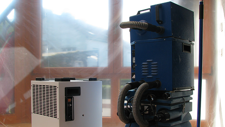 Beispielbild Trocknungsgeräte zur Wasserschadensanierung 2
