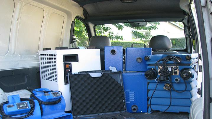 Beispielbild Trocknungsgeräte zur Wasserscadensanierung 1