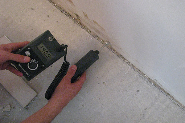 Beispielbild 1 Bautrocknung